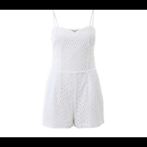 Guess sleeveless eyelet romper, Size 2
